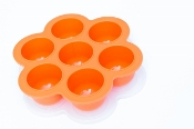 POPFEX Baby Food Multiportion Freezer Tray - ORANGE