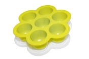 POPFEX Baby Food Multiportion Freezer Tray - GREEN