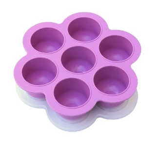 POPFEX Baby Food Multiportion Freezer Tray - LAVANDER
